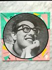 """Buddy Holly Love me Peggy Sue Picture Disc 12"""" LP DENMARK Imp 1983 RARE OOP HTF"""