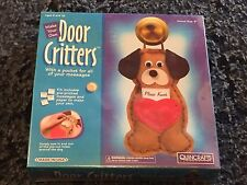 Quincrafts Make Your Own Door Critters New! Free Shipping Puppy