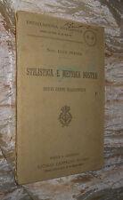 Stilistica e metrica nostra L. Pratesi Enciclopedia Scolastica 1911 afeL1