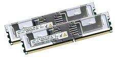 2x 2GB 4GB RAM Intel Server Board S5000VXN S5000VSA 667Mhz FB DIMM DDR2 Speicher