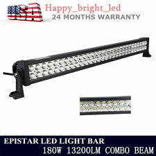 32inch 180W LED Work Light Bar Spot Flood Bulb Car ATV UTE boat Offroad Lamp US
