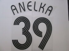 Anelka no 39 Chelsea Champions League Football Shirt Name Set Kids Youth