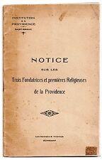 BRETAGNE COTES D'ARMOR 1909 SAINT-BRIEUC HISTOIRE INSTITUTION DE LA PROVIDENCE