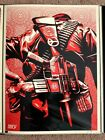 Duality of Humanity 3 print by Shepard Fairey signed and numbered Obey giant