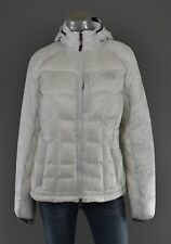 Women's North Face White Hooded Elysium 700 Down Jacket M New $279