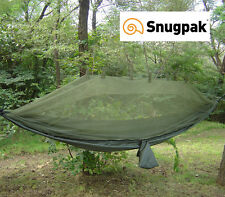 Snugpak JUNGLE HAMMOCK with built in mosquito net and attachment system