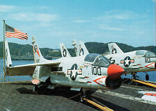 VOUGHT F-8 CRUSADER USN Fighter Gunfighter FAOW Black No 1