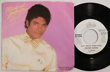MICHAEL JACKSON promo 45 with picture sleeve EPIC P.Y.T. Pretty Young Thing wlp