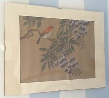 Acquerello Cinese prima metà del 20° secolo - Pittura Botanica Su Seta.