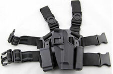 Airsoft Tactical CQC Drop Leg Right Holster for M9 M92 Berett Style Pistol