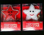 CHRISTMAS LED COLOUR CHANGING INDOOR NOVELTY STAR LIGHT FESTIVE DECORATION NEW