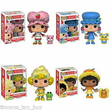 Set of 4: Funko POP! Animation Strawberry Shortcake Blueberry Orange PRE-ORDER