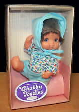 "1979 Uneeda Chubby Toodles 5¼"" Vinyl Baby Doll - Mint in Box"