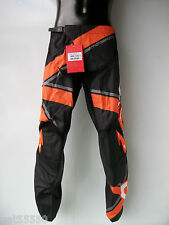 "NEW SCOTT Sz 34"" MOTOCROSS ENDURO PANTS TROUSERS KTM SX SFX EXCF XCF XC ORANGE"
