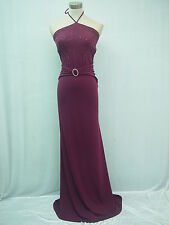 Cherlone Clearance Purple Backless Wedding/Evening Formal Bridesmaid Dress 12-14