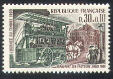 France 1969 Horse/Postal Bus/Stamp Day 1v (n23440)