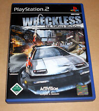 PlayStation 2 juego-Wreckless-thethe yakuza misiones-ps2 Game alemán