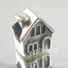 HOME Authentic 925 Sterling SILVER Family HOUSE Bead/European Charm NEW