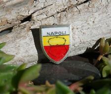 Bella vecchia SMALTO SPILLA/PIN # Napoli/Napoli città in Italia