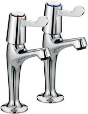 Bristan Value Lever HN Sink Taps with Quarter Turn Ceramic Disc Valves VALHNKCCD
