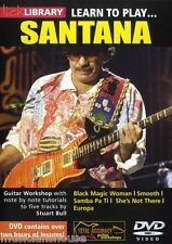 Lick Library Learn To Play Carlos Santana Black Magic Woman lección Guitarra Dvd