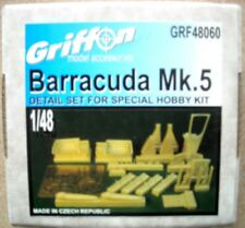 Griffon 1/48 Barracuda MK. 5 Detail Set for Special Hobby Kit