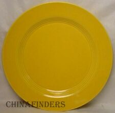 HOMER LAUGHLIN china HARLEQUIN pattern YELLOW 1979 issue SALAD PLATE