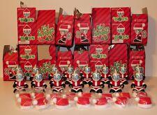 Kidrobot Lot of 15 'Bots Mini 3-inch Kidhohoho Santa Chase RED Edition mascots
