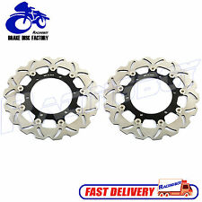Front Brake Rotor Disc for Yamaha VMX 12 V-Max VMax 1200 VMX1200 93-07 Black