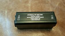 Neutrik NADITBNC M 110 to 75 digital audio impedance converter.