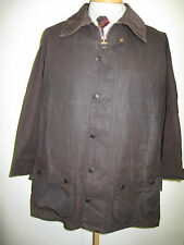 "Barbour Beaufort  Waxed jacket - XL 46"" S Euro 56 S in Brown"