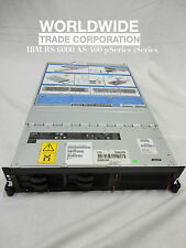 IBM 9110-510 p5-510 pSeries Server 1.5GHz 2-Way, 8GB mem, 73.4GB disk, rails