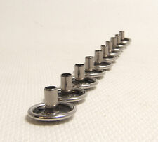 """Snap Caps w/ 1/4"""" Extended Length Post for Thicker Fabric - 100 Piece Set"""