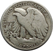 1947 WALKING LIBERTY Half Dollar Bald Eagle United States Silver Coin i45155