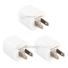 3 USB Rapid Travel Battery Home Wall AC Charger Adapter for Apple iPhone 5 5G 5S