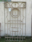 Antique Victorian Iron Gate Window Panel Fence Architectural Salvage Door #50