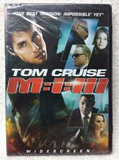 Mission: Impossible III (DVD, 2006, Single Disc; Widescreen) Tom Cruise NEW!