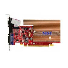 MSI NVIDIA NX8400GS-TD256EH GS8400 256MB DDR2 VGA DVI TV-out passiv Grafikkarte