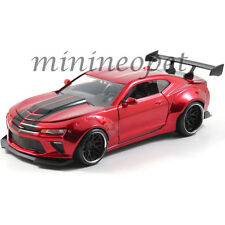 JADA 98136 BIGTIME 2016 CHEVY CAMARO WIDE BODY 1/24 with GT WING CANDY RED