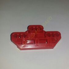 1 X LegoTechnic  32307 Axle Connector Block 3 x 6 with 6 Axleholes (Red)