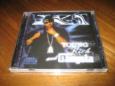 X1 - Young Rich and Gangsta West Coast Rap CD - E-40 Suga Free Too Short - 2006