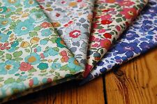4 pieces Liberty Betsy Tana Lawn Fabric