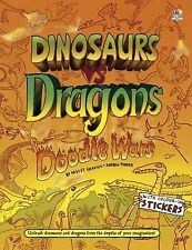 Dinosaurs Vs Dragons (Doodle Wars), 1782440615, Very Good Book