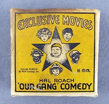 Vintage Antique 1924 Hal Roach Our Gang Comedy Cake Party 16mm Film Movie Tape