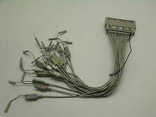 AGILENT / HP Pod 1 Data + J Clock Logic Analyzer Test Cable Assembly