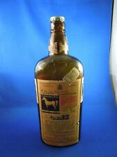 Vintage White Horse Cellar Blended Scotch Whiskey Original Recipe Bottle Empty