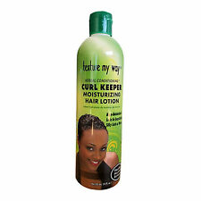 TEXTURE MY WAY CURL KEEPER MOISTURIZING HAIR LOTION 355ml