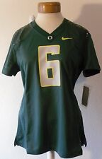 NWT Nike Oregon Ducks #6 Womens Football Game Jersey L Noble Green MSRP$85