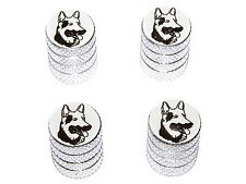 German Shepherd - Dog Tire Valve Stem Caps - Aluminum
