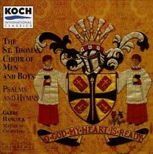 ST. THOMAS CHOIR OF MEN AND... - O God My Heart Is Ready / Hancock, St... CD